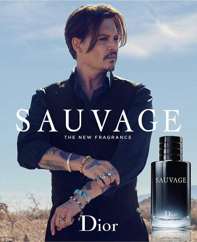 Johny Depp-and-Dior